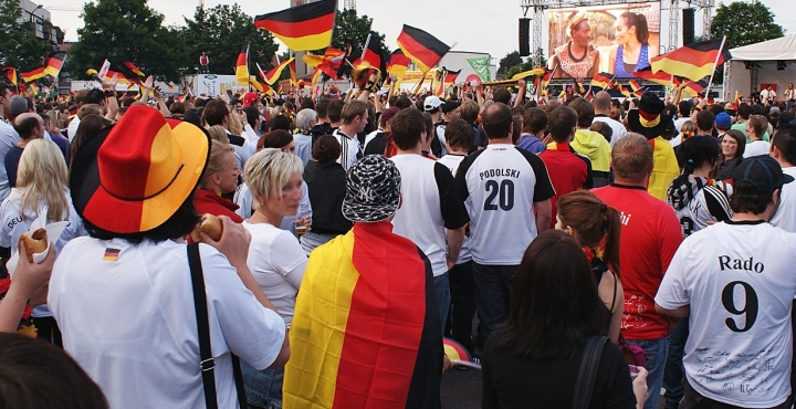 fußball - public viewing 2014