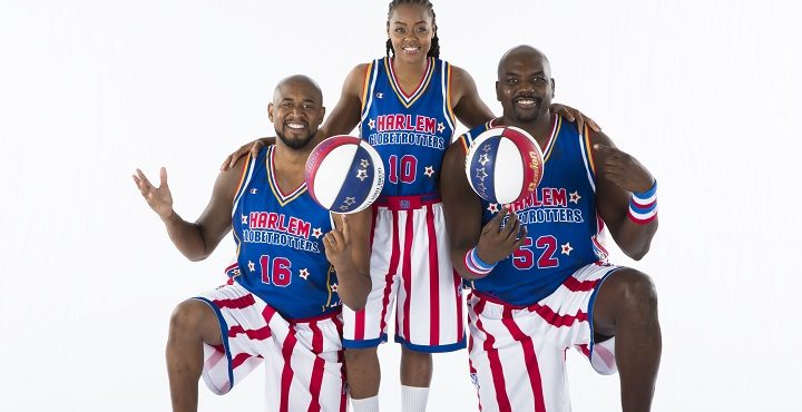ATLANTA, GA- August 21, 20182018 Harlem Globetrotter's Photo Day